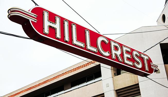 Hillcrest San Diego Sign